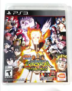 Naruto Shippuden Ultimate Ninja Storm Revolution SONY PLAYSTATION 3 PS3 Game