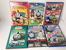 Lot Of 6 Thomas The Train And Friends Barney Percy Halloween Sodor DVD