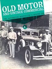 Old Motor magazine March 1965 White Steam Car Alfa Romeo Gordon car Morris