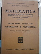 Andreani - Matematica. Aritmetica e geometria. Volume primo, classe prima-Hoepli