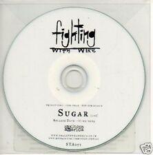 (77V) Fighting With Wire, Sugar - DJ CD