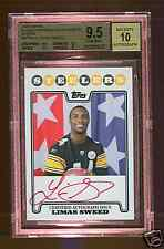 BGS 9.5 10 LIMAS SWEED 2008 TOPPS RC PREMIERE RED AUTO