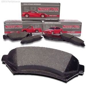 SP Performance MD1057B Street Plus HP Metallic Rear Brake Pads 300 05-11