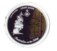 2006 Silver Proof $1 AUSTRALIA ON THE MAP DUYFKEN EXPLORATION