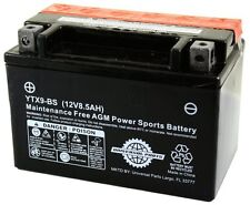 12v 9ah Battery YTX9-BS MG9-bs Scooter Atv YTX9BS Suzuki Yamaha Honda