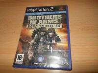 BROTHERS IN ARMS 'ROAD TO HILL 30   PLAYSTATION 2 PS2 NEW SEALED pal