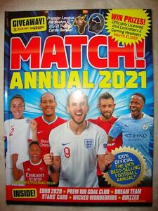 Match 2021 Annual UK's Best-Selling Football Annual Official Brand New RRP £7.99