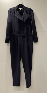 Navy Reiss Tuxedo Jumpsuit Size 12