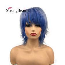 Light Blue Dark Blue Gradient Hair Wig/Lolita Rainbow Cosplay Wig Party Wigs