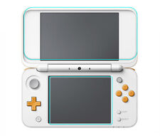 Top & Bottom Tempered Glass Screen Protector Film for New Nintendo 2DS LL 2DS XL