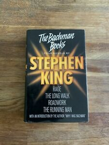 Vintage Stephen King The Bachman Books BCA 1st Edition Hardback Book