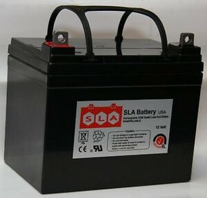 12V 35Ah U1 Wheelchair Battery Replaces 36Ah Pihsiang 109101-88107-36P