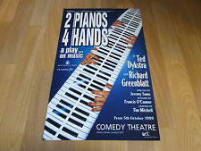 2 PIANOS 4 HANDS by Ted Dykstra and Richard Greenblatt COMEDY Theatre Poster