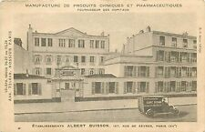 Etablissements ALBERT BUISSON Truck Manufacture of chemicals and pharmaceuticals