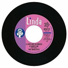 The Majestics (i Love Her so Much) It Hurts Me Northern Soul 45 (outta Sight