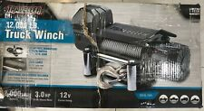 Traveller 1292505 12000 Lb Truck Winch With Steel Cable *New* Fast Shipping*