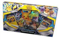 Pokemon TCG, Pikachu-Gx & Eevee-Gx Special Collection Box New & Sealed