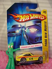 htf 2006 Hot Wheels DATSUN 240Z #036 nc☆Yellow/Black; 120; y5☆#36 New Models