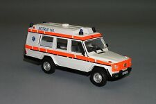 Mega RARE !! Mercedes G class W463 Ambulance Vector Models Hand Made 1/43 Lim.