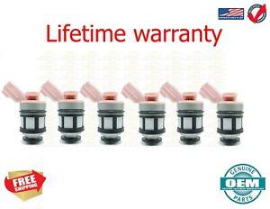 1997-2001  X6 Fuel Injectors 16600-9S200 for Infiniti QX4 LE 3.3L USA JS23-4