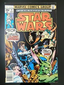 Marvel 1978 Star Wars #9 - 1st Appearance of the Cloud Riders - Nice Copy