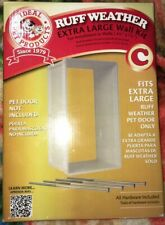 🐶 Ruff-Weather or Protector Pet Dog Door Wall Kit -  Extra Large L👀K