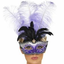 Venetian Purple Feather Eyemask