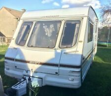 Swift Challenger 2 Berth Caravan with Full Awning