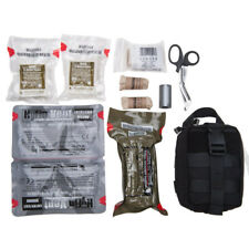 Tactical Trauma Kit Gunshot/Arterial Bleed IFAK Fresh 1st Quality with Pouch