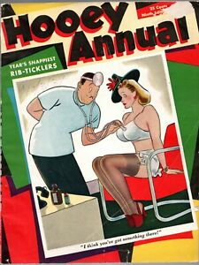 Hooey Annual #9 1939 Girlie Risque Cartoons C.C. Beck Boltinoff magazine