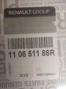 4 Bougies de préchauffage pour Moteur K9K 1.5 Dci Renault Nissan Dacia Mercedes