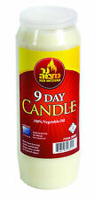 More details for 9 day 216 hour jewish shiva long burning memorial candle holidays yom kippur