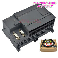 PLC S7-200CN CPU224XP 14I/10O 2AI 1AO AC/DC/RLY 6ES7 214-2BD23-0XB8 PPI Cable