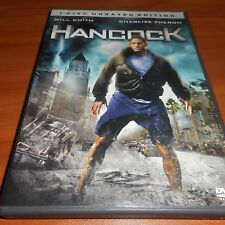 Hancock (DVD, 2008, Unrated Widescreen) Will Smith Used Jason Bateman