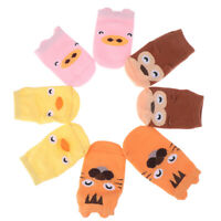 1pair baby infant ankle sock newborn cotton boy girl cute cartoon anti-slip socY