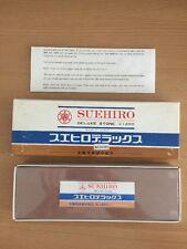 Suehiro #1200 Japan water stone sealed in box bottom corner dented D1069