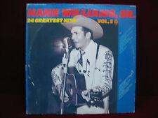 HANK WILLIAMS, SR. 24 - GREATEST HITS, VOL. 2 - MGM MG-2-5401-Vinyl LP
