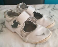 NIKE AIR RIFT WHITE LEATHER TRAINERS SIZE UK 5.5 EU 38.5 PLEASE READ DISCRIPTION