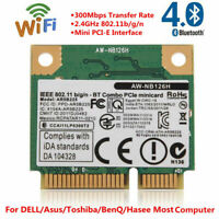 Mini PCI-E Wi-Fi Bluetooth For Intel Wireless Network Card 300Mbps For DELL GD