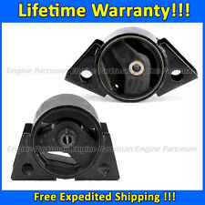 0102 Front & Rear Motor Mount for 93-01 Nissan Altima 2.4L AT 99-02 Infiniti G20