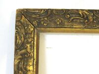 ANTIQUE GREAT QUALITY GILT FRAME FOR PAINTING  11 3/4  X 9 1/4  INCH  (a-1)