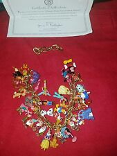 Bradford exchange The Ultimate Disney Classic 37-Character Charm Bracelet