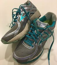 Brooks GTS 16 Edition Women's Athletic Running Shoes Gray Blue Size 11 Narrow