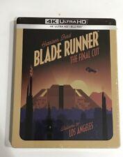 Blade Runner: The Final Cut Steelbook (4K Uhd, Blu-Ray, Poster)