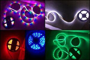 Waterproof Flexible Gift String 300 LED Strip Light Fairy Lights 12 & 24volt 5M