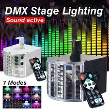 18W DJ Lights Sound Music Activated 18W RGB LED Strobe Effect Stage Light DMX512
