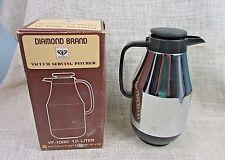 Diamond Brand Vacuum Serving Pitcher Vf-1000 1.0 Liter. Nib