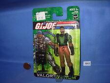 """2004 G.I. JOE HEAVY DUTY VALOR vs. VENOM 3.75"""" Figure MOC"""