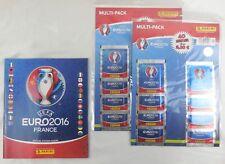 UEFA Euro 2016 Frankreich, France Multipack 16 Tüten + Sticker Album, Panini