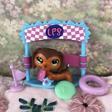 Authentic Littlest Pet Shop Dachshund Dog 675 Savannah Savvy Green Eyes Rare